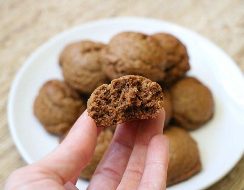 Flourless Peanut Butter and Almond Butter Cookies