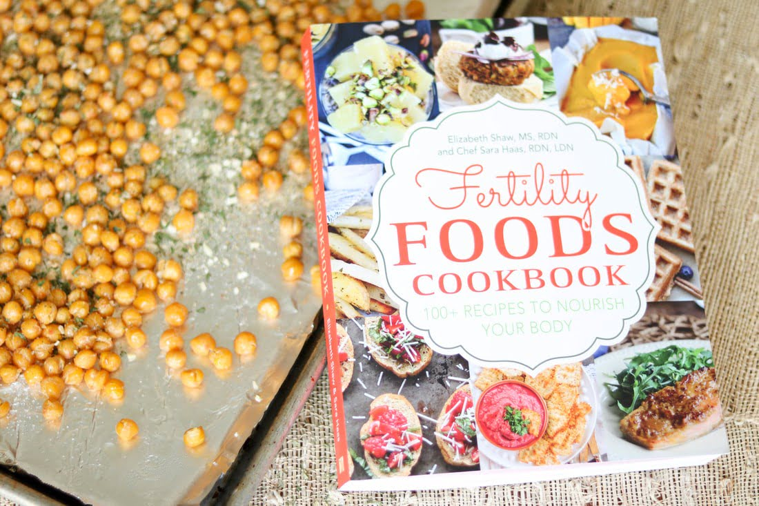 Crunchy Ranch Chickpeas and Fertility Foods Cookbook Review