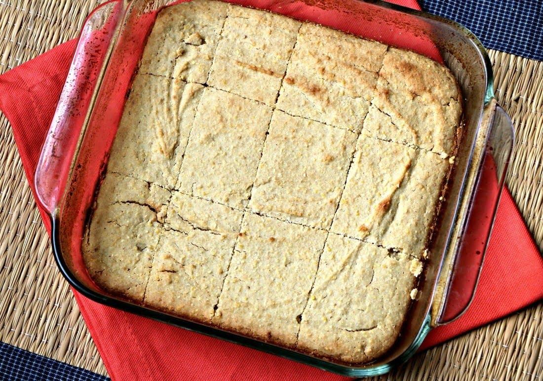 Gluten Free, Dairy Free Honey Cornbread