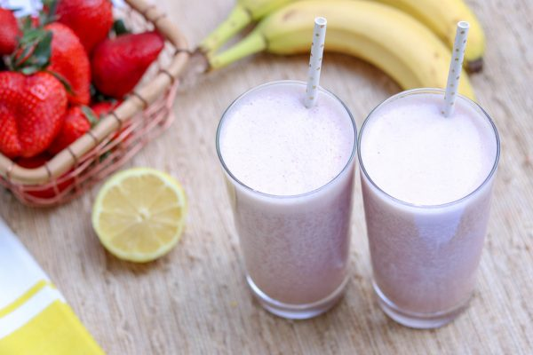 strawberry-banana-lemon-smoothie