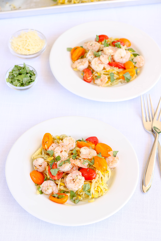 Sheet Pan Shrimp Primavera Recipe