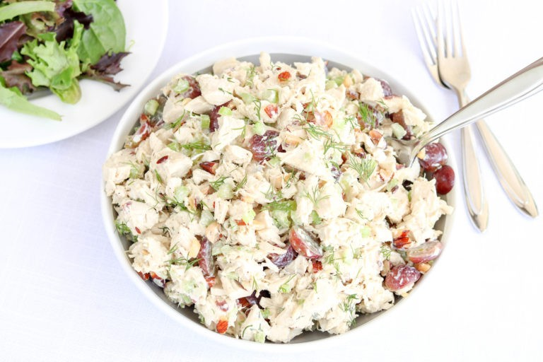 Whole30 Dill Chicken Salad