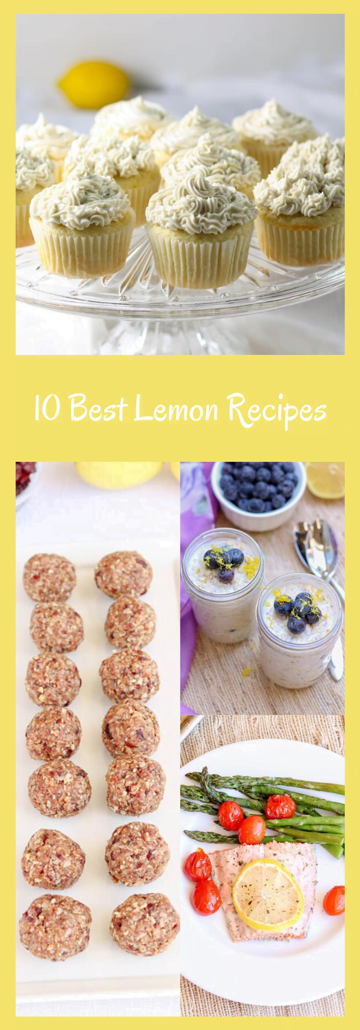 10 Best Lemon Recipes